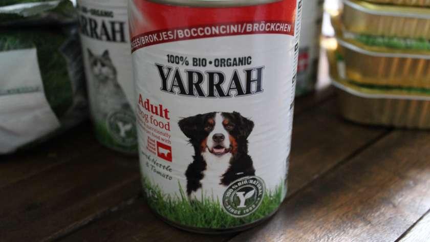 Yarrah : une alimentation 100% bio pour des animaux en bonne santé