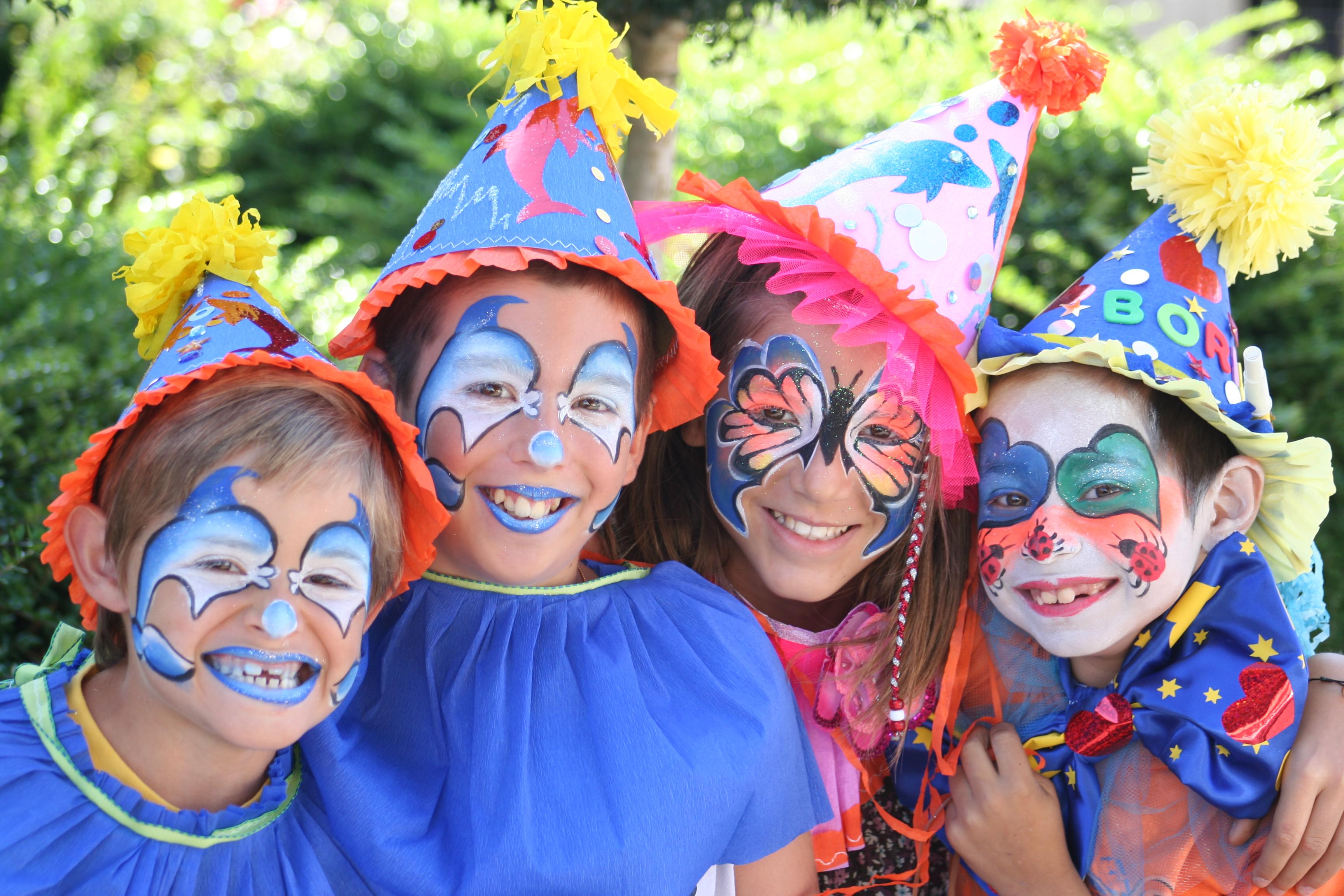Maquillage bio pour enfant